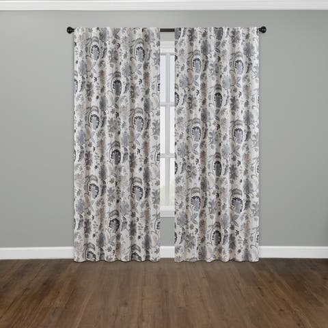 Eclipse Nina Thermalayer Blackout Window Curtain Panel