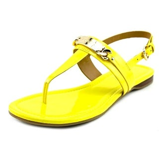 Coach Caterine Open Toe Leather Thong Sandal