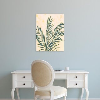 Easy Art Prints Grace Popp's 'Sunset Fronds I' Premium Canvas Art
