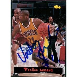 Signed Lenard Vonhon Minnesota Gophers 1994 Classic Games Basketball Card autographed