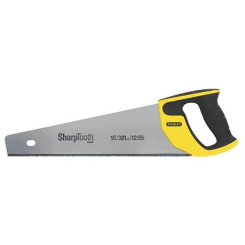 Stanley 20-526 SharpTooth Hand Saw, 15""