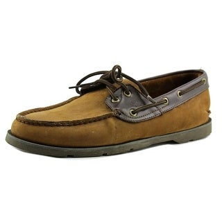 Sperry Top Sider Leeward 2-Eye Men Moc Toe Leather Boat Shoe