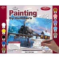 """Winter Magic - Paint By Number Kit 15.375""""X11.25"""""""