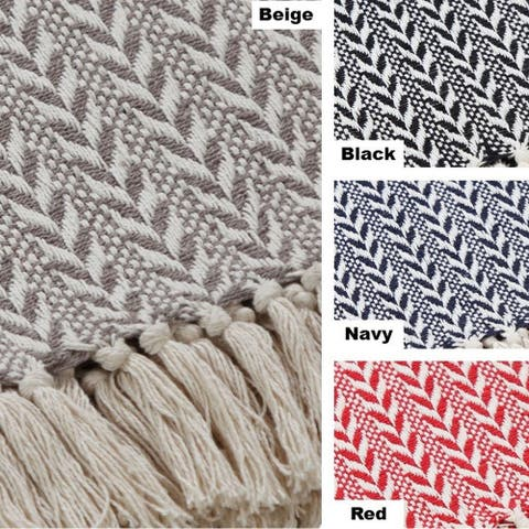 AANNY Designs Hogan Cotton Throw Blanket
