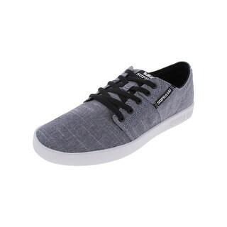 Supra Mens Stacks Skate Shoes Low Top Trainer