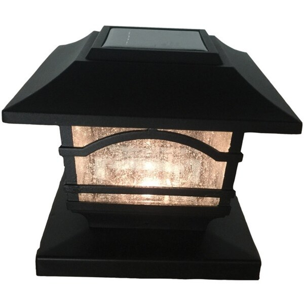Shop Maxsa R Innovations 41471 Mission Style Solar Post