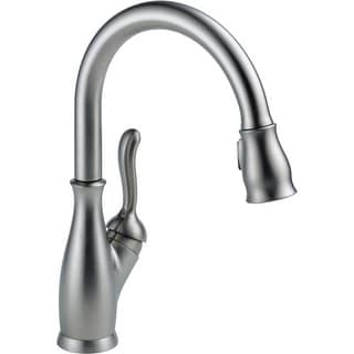 Delta 9178 DST Leland Pull Down Kitchen Faucet With Magnetic Docking Spray  Head