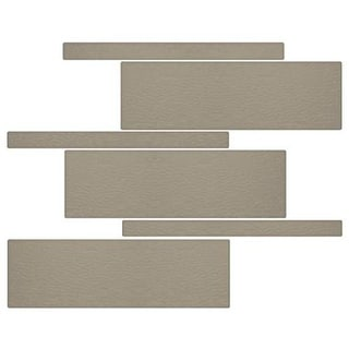 Miseno MT-G5CEME Nature Mosaic Wall Tile (8.9 SF / Carton) - Brown
