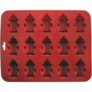 "Mini Fire Hydrant Silicone Cake Pan-8.5""X6.75"" 15 Cavity (1.75""X1.75"")"