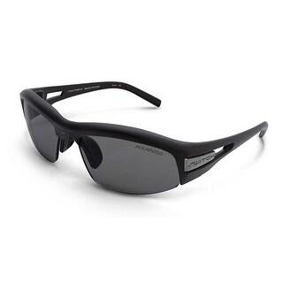 Switch Cortina Matte Black Polar TC Grey/Rose Amber Interchangeable Sunglasses