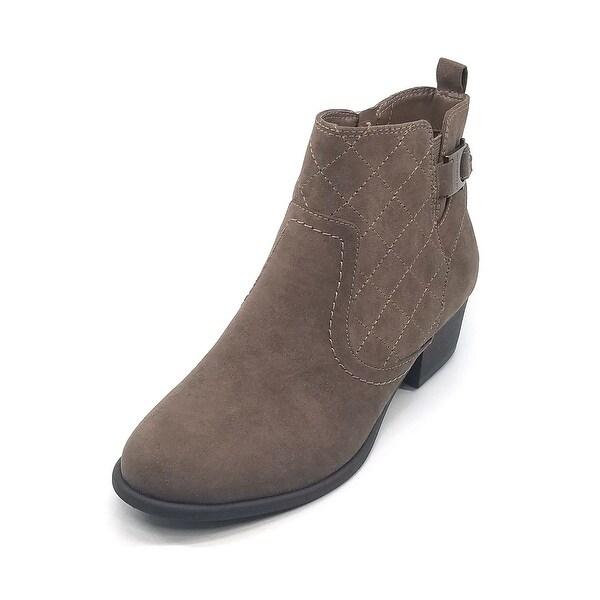 bebf814ad1 Liz Claiborne Womens Paulina Leather Closed Toe Ankle Fashion Boots - 5