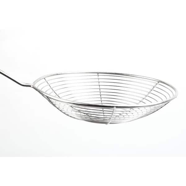 Mesh Net Strainer Steel Wire Skimmer Spoon Filter Ladle Tools Useful