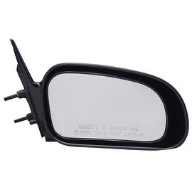 Pilot Automotive TYC 6510131 Black Passenger/ Driver Side Power Non-Heated Replacement Mirror for Mitsubishi Eclipse