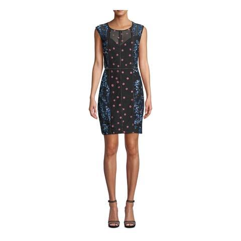 NICOLE MILLER Blue Sleeveless Mini Dress 4