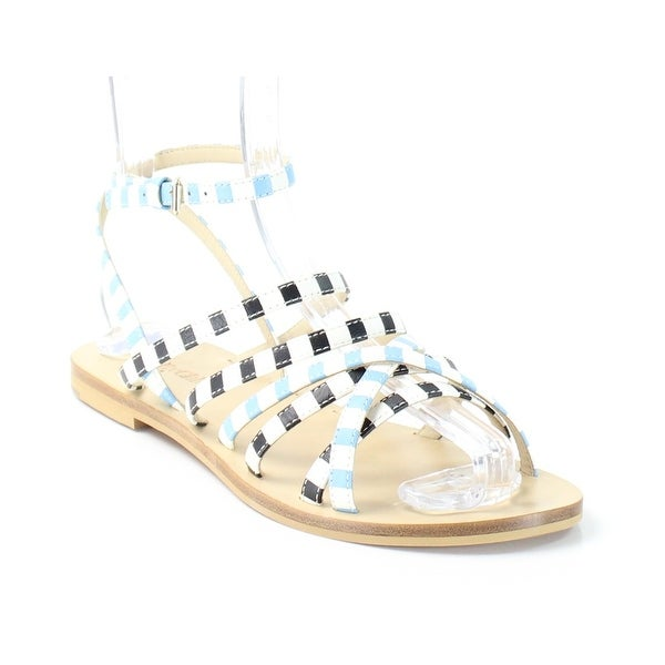 See by Chloe NEW Blue Shoes Size 6M Strappy Leather Sandals