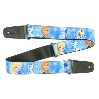 Walt Disney Frozen Anna Elsa & Olaf Guitar Strap