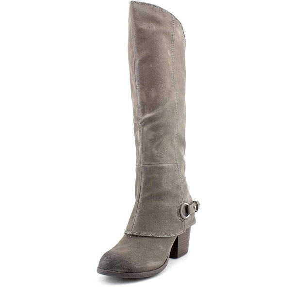 Fergalicious Lexy   Round Toe Canvas  Knee High Boot