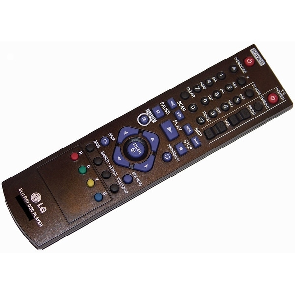 OEM LG Remote Control Originally Shipped With: BD630 & BD640