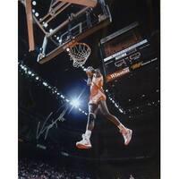 Dominique Wilkins Autographed Atlanta Hawks Dunking 16x20 Photo