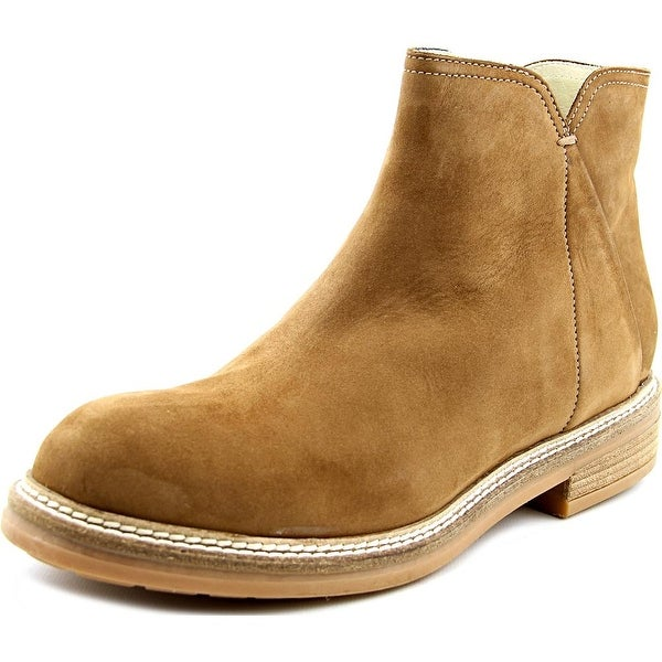 Firenze.Studio Bess Men Round Toe Leather Tan Boot
