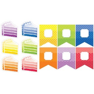 Painted Palette 6In & 3In Cut-Outs