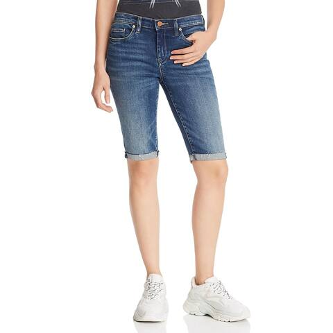[BLANKNYC] Womens Bermuda Shorts Denim Cuffed - Vendetta - 25