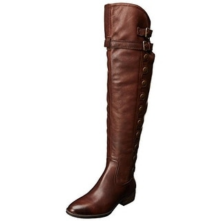 Sam Edelman Womens Pierce2 Riding Boots Leather Over-The-Knee