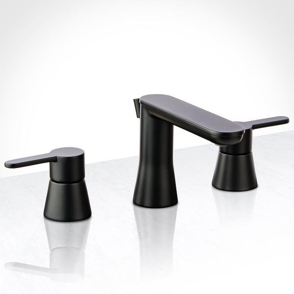 Miseno ML361 Mia-G 1.2 GPM Widespread Bathroom Faucet with Solid Brass Pop-Up Drain Assembly