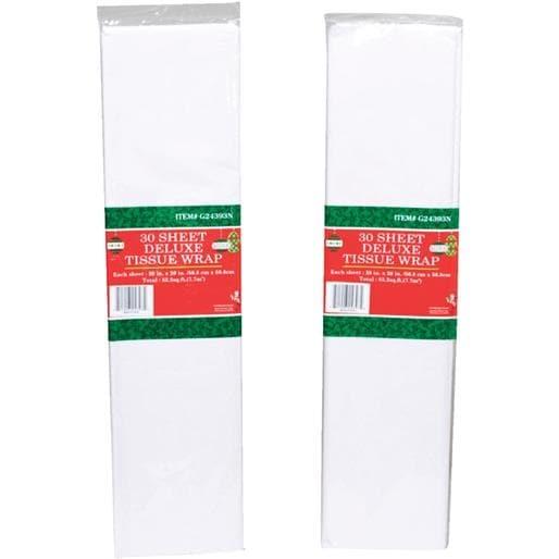 International Wholesale 30Pk White Tissue Paper HS-100884 Unit: EACH Contains 24 per case