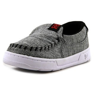 DC Shoes Villian TX SE UL Toddler   Canvas Gray Fashion Sneakers