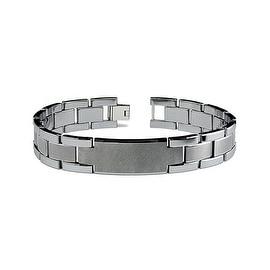 Tungsten Men's Link Bracelet - 8.5 Inches