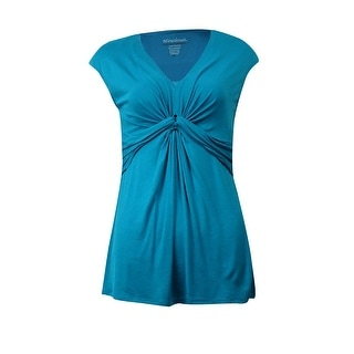 Miraclesuit Women's Ruched Waist Drape Top