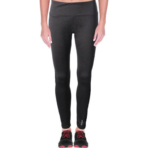 Reebok Womens Zoom Athletic Leggings Yoga Fitness