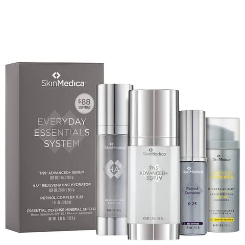 SkinMedica Everyday Essentials System with TNS Advanced and Serum