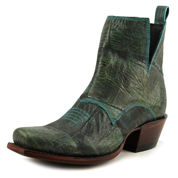 Nocona Dakota Bootie Round Toe Leather Western Boot