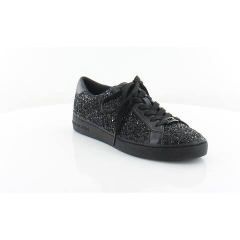 d85ce7ed1e8d Michael Kors Irving Lace Up Women s Fashion Sneakers Blk Blk