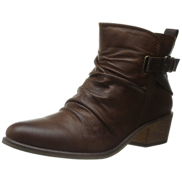 Bare Traps Womens Pennie Almond Toe Ankle Fashion Boots