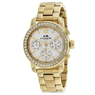 Coach Women's Legacy Sport 14502370 White Dial watch