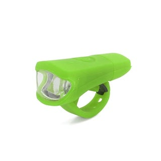 Father  s Day Gift l Universal Green White Light 3 Modes 2 LED USB Rechargeable Bike Headlight