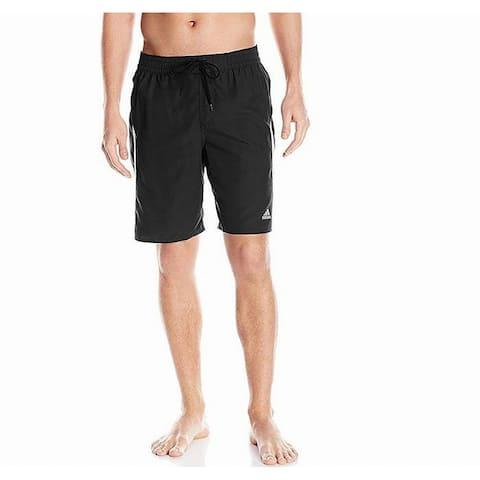 Adidas Mens Swimwear Black White Size XL Core-Tech Volleyball Trunks