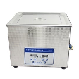 15L Professional Digital Ultrasonic Cleaner Machine with Timer Heated Stainless steel Cleaning tank 110V/220V