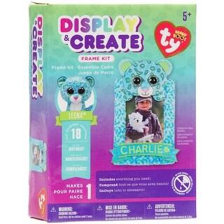 Beanie Boos Display & Create Frame Kit-Leona The Leopard