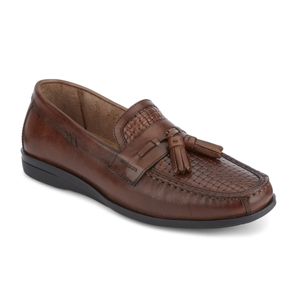 Dockers Mens Manheim Leather Dress Casual Tassel Loafer Shoe