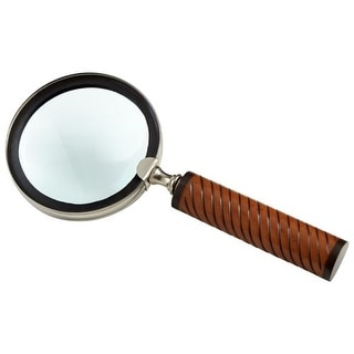 Cyan Design Holding Magnifier Holding 0.75 Inch Tall Brass Magnifier Made in India
