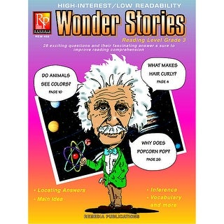 Wonder Stories 3Rd Gr Reading Level