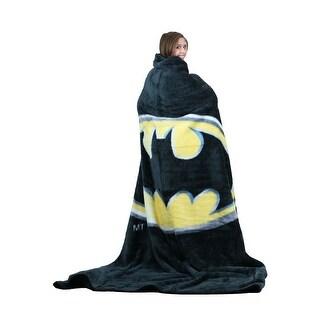 Batman Logo Queen Blanket