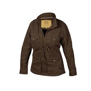 StS Ranchwear Western Jacket Womens Sundance Front Zip Brown STS8353