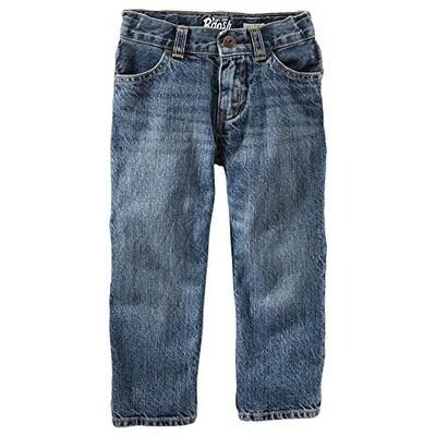 OshKosh B'gosh Little Boys Classic Jeans - Tumbled Medium -2T