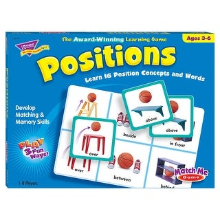 Match Me Game Positions Ages 3 &