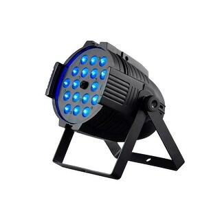 Monoprice Stage Right Stage Wash 18x18W LED PAR Stage Light with Zoom (RGBWA-UV)